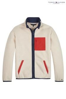 Tommy Hilfiger Natural Colourblock Polar Fleece