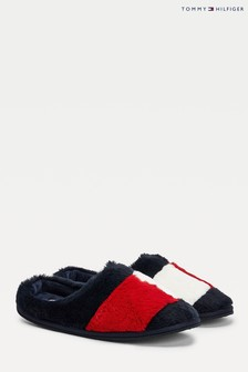 Tommy Hilfiger Blue Essential Home Slippers
