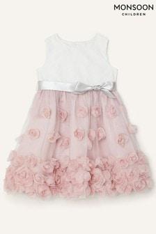 Monsoon Baby Pink Ianthe Dress