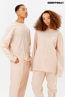 Continu8 Nude Long Sleeve T-Shirt