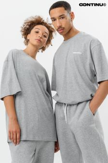 Continu8 Grey Oversized T-Shirt