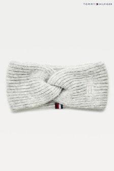 Tommy Hilfiger Womens Grey Th Effortless Headband