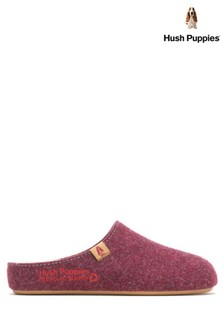 Hush Puppies Red The Good Slippers