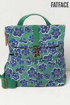 FaFace Green Floral Backpack