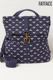 FatFace Blue Bee Backpack