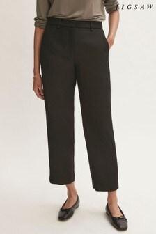 Jigsaw Nevis Wool Twill Trousers