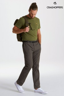 Craghoppers Green Kiwi Boulder Slim Trousers