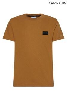 Calvin Klein Beige Badge T-Shirt