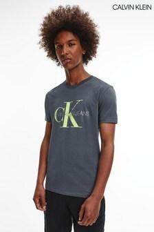 Calvin Klein Grey Seasonal Monogram T-Shirt