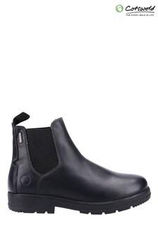 Cotswold Black Farmington Boots