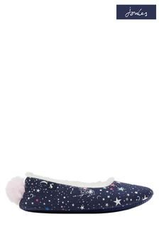 Joules Blue Character Slippers