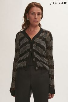 Jigsaw Knitted Lace Cardigan