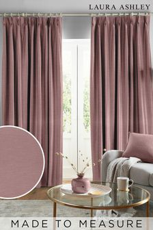 Laura Ashley Purple Swanson Made To Measure Curtains