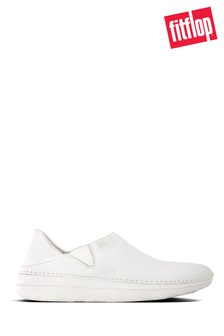 FitFlop White Superloafer Loafers