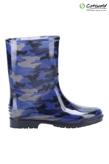 Cotswold Younger Boys Blue PVC Jnr Wellies