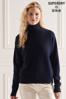 Superdry Lambswool Roll Neck Jumper