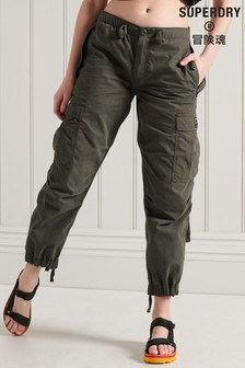 Superdry Green Parachute Grip Pants