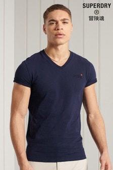 Superdry Cotton Classic V-Neck T-Shirt