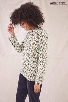 White Stuff  Womens Yellow Poppy Jersey Top