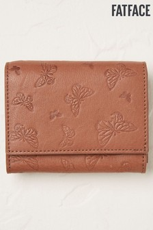 FatFace Womens Brown Butterfly Embossed Purse