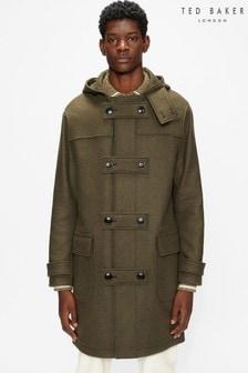 Ted Baker Green Mogul Duffle Coat
