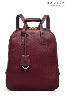 Radley Red London Dukes Place Medium Ziparound Backpack