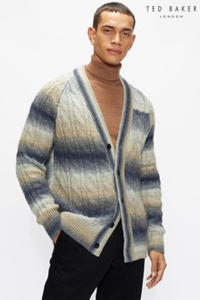 Ted Baker Pitchh Ls Ombre Cable Cardigan
