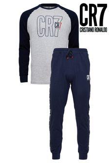 CR7 Boys Long-Sleeve Pyjama Set