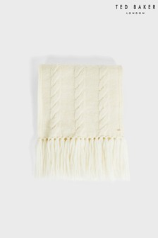 Ted Baker Iciey Chunky Cable Knitted Scarf