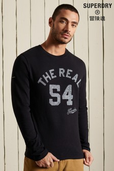 Superdry Black Out Long Sleeve Top