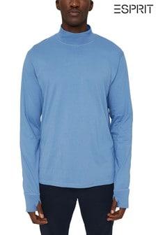 Esprit Blue Long-Sleeve T-Shirt