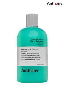 Anthony Invigorating Rush Hair  Body Wash 355 ml
