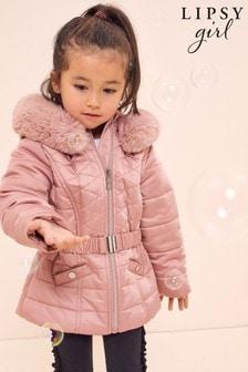 Lipsy Mini Belted Padded Coat