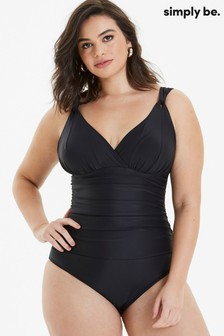 Simply Be Magisculpt Tummy Tuck Swimsuit - Standard Length