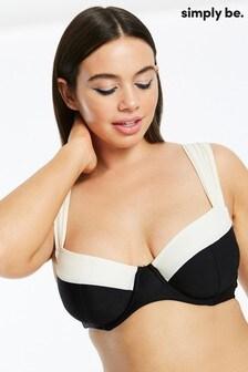 Simply Be Underwired Bikini Top