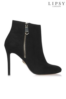 Lipsy Croc Back Ankle Boots