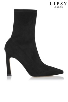 Lipsy Microfibre Ankle Boots