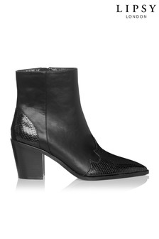 Lipsy Western Ankle Boots