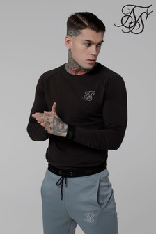 Sik Silk Long Sleeve Logo T-Shirt