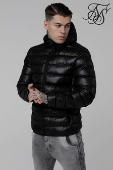 Sik Silk Hooded Padded Jacket