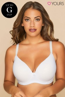 Yours Curve Moulded Padded T-Shirt Bra F+