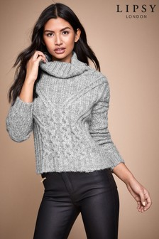 Lipsy Chunky Cowl Neck Jumper