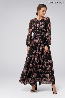 Forever New Floral Maxi Dress