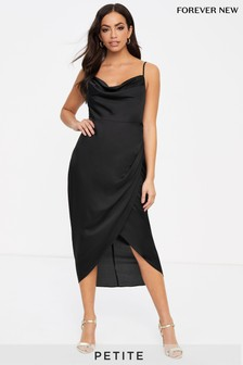 Forever New Petite Cowl Neck Slip Dress