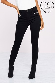 Lipsy Kate Mid Rise Regular Length Skinny Jeans