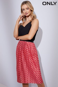 Only Disco Jersey Skirt