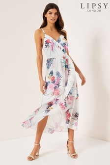 Lipsy Tiger Lilly Print Cami Dress