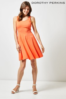 9454fd0e7 Dorothy Perkins Seamed Jersey Fit and Flare Dress