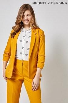 Dorothy Perkins Ruched Sleeve Jacket