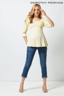 Dorothy Perkins Maternity Ditsy Floral Top